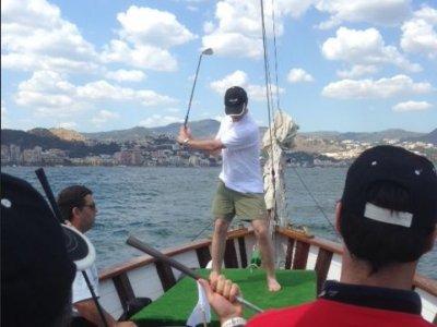 Alquiler de goleta 36 pax en Puerto Banús, 8 horas