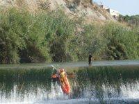 Pirogue descent in the Segura River+lunch+photos