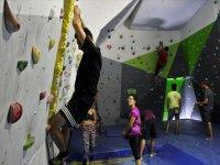 Using climbing facilities