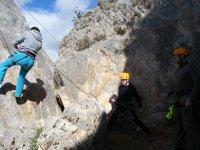 Climbing in malaga