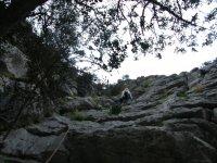 Man climbing montana