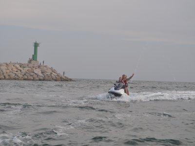 Paseo en moto de agua biplaza, Cambrils, 40 min.