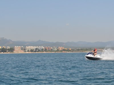 Great tour on Jet-ski, Cambrils, 2h
