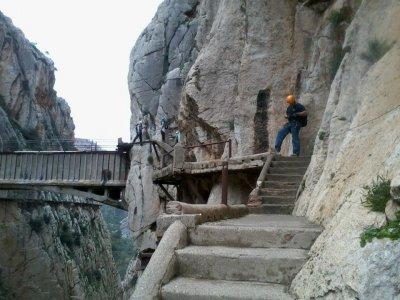 Escalada en Malaga Vía Ferrata
