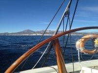 Sailboat in Altea