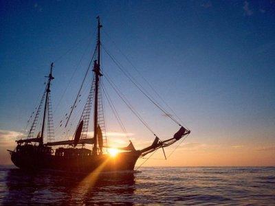 帕尔马的老式帆船出租,7小时