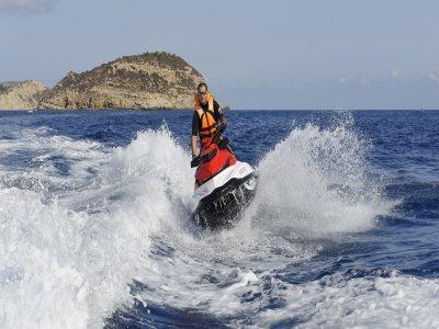 Ruta en moto de agua por el PN Sierra Helada 1h