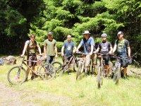 Rutas en bici de montaña para amigos