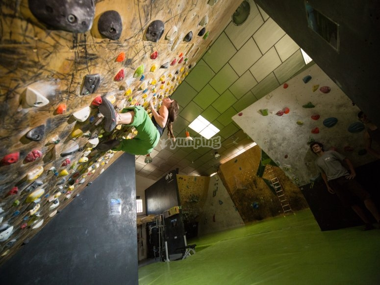 Training climbing zone