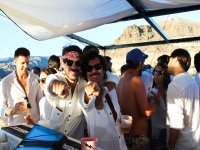 沿着加那利海岸的私人派对