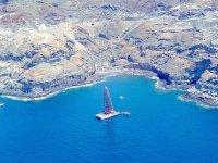 在加那利海岸航行