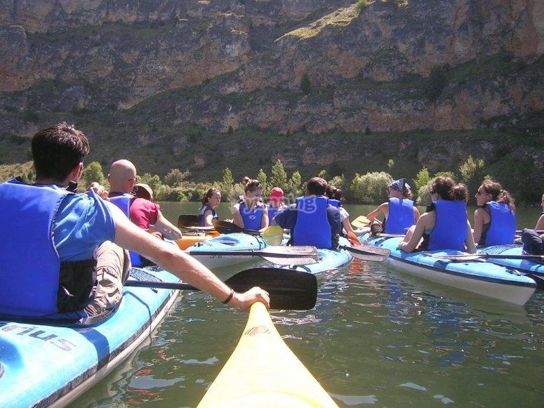 Kayaking Tour in Hoces del Duraton