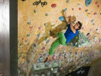 Sports climbing course for kids in Madrid