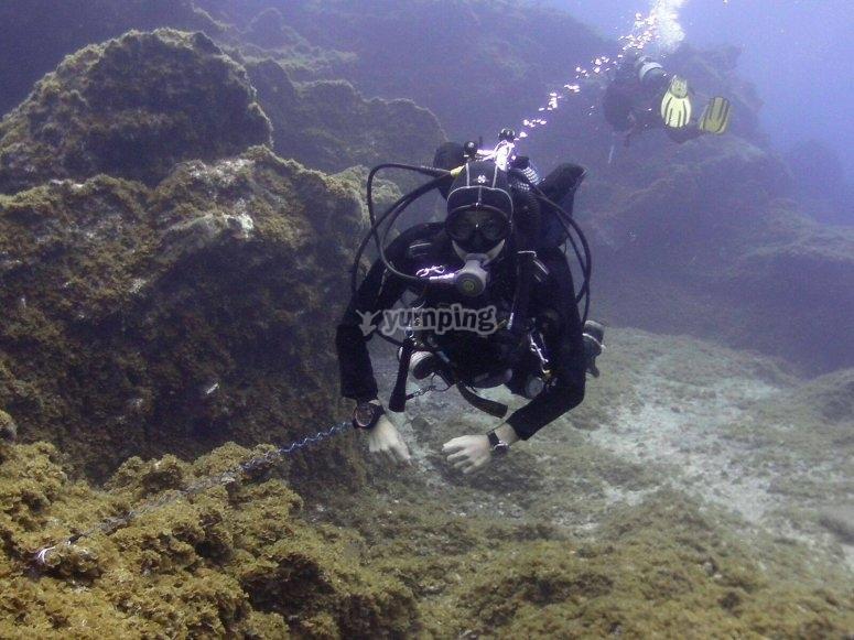 Ruta de buceo por Isla Grosa