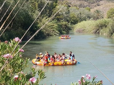 Rafting & Paintball + Meal in Murcia