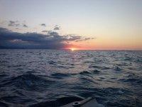 北方的日落