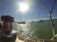 Disfruta del mar desde el barco