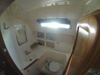 Interior de los lavabos
