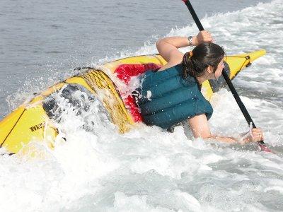 Curso de iniciación al kayak en Mazaricos, 5 horas