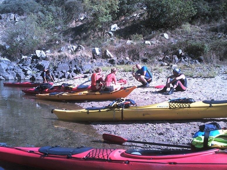Curso de navegación en kayak