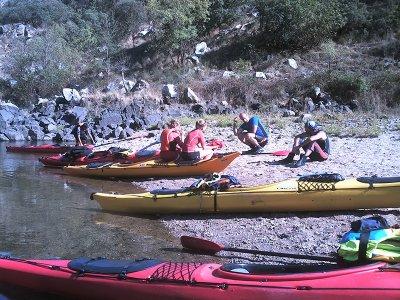 Ruta en kayak 2 días, Ribeira Sacra y Miño