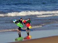 Uscire dalla spiaggia