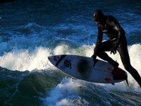 Surf e tuta speciale