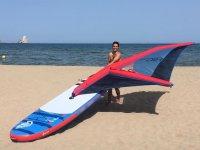 Windsurfer on the Costa Brava