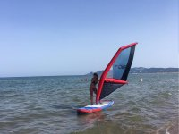 Windsurfing baptism
