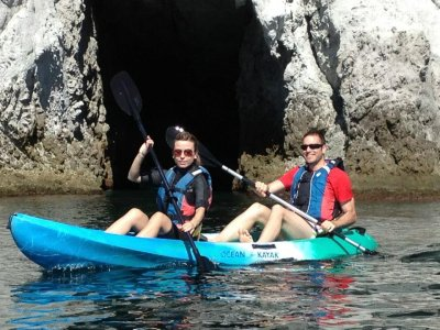 Kayak trip and snorkel in La Fabriquilla