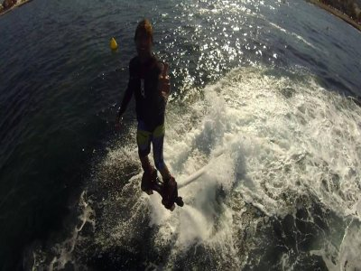Flyboard air in Denia. 20 minutes