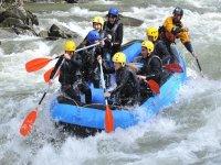 Rafting in Noguera Pallaresa