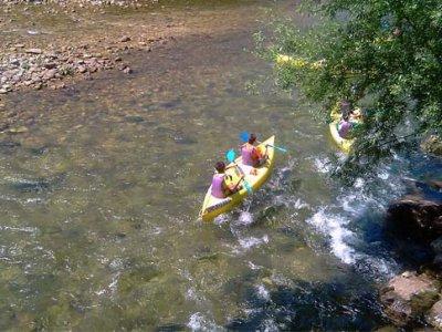Discesa del Sella in canoa, BAMBINO