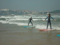 In one of our surf courses