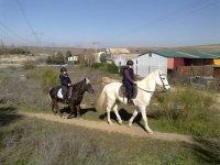 Ruta a caballo Xanadú, 1 hora