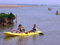 Alumnos en Kayak