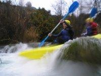 kayak en tandem