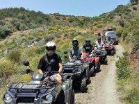 Tour in quad a Malaga