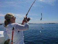Fishing in the Galician coast