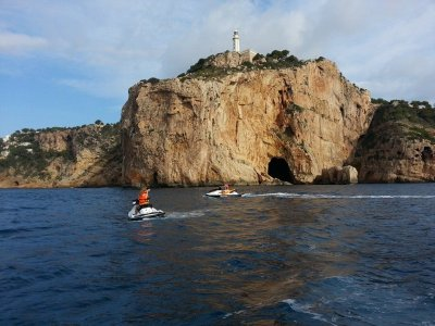 Jet ski in Mascarat & flyboarding for 2 in Altea
