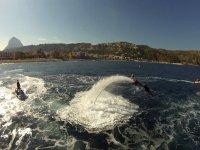 haciendo el delfin