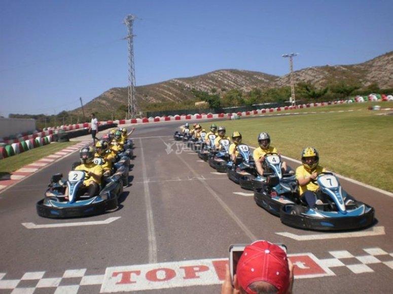 Karting en Oropesa