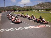 Tanda de karting adultos 8 minutos en Oropesa