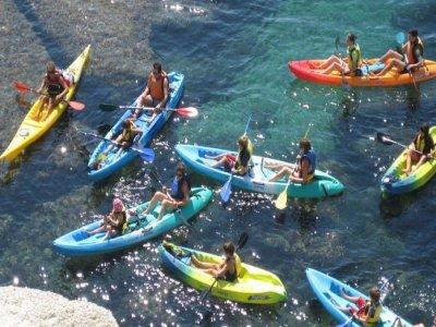 皮划艇和浮潜路线位于La Polacra的顶端