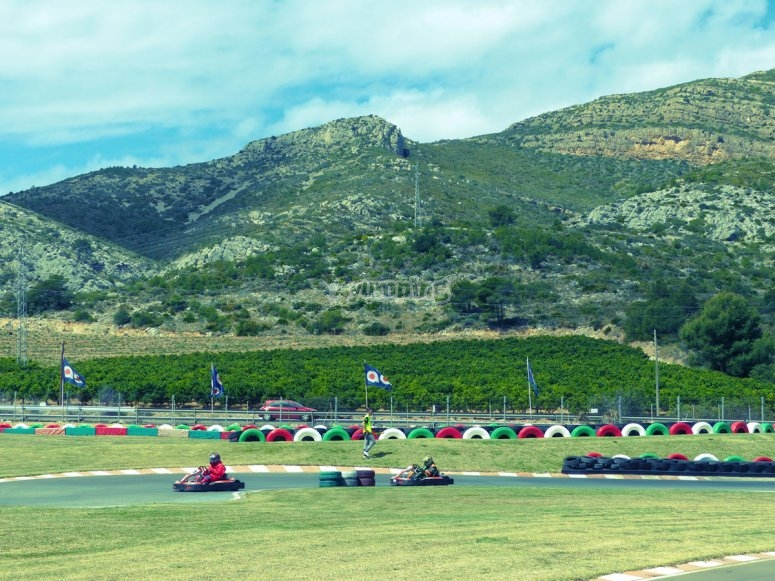Karting outdoor en Oropesa