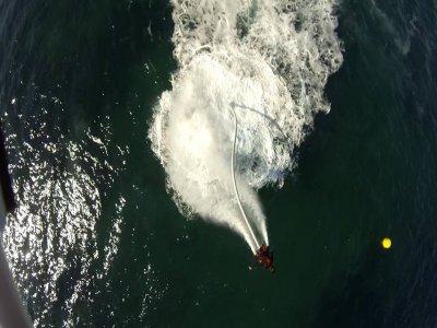 Moto de agua a Benidorm 2 pax y flyboard para 1