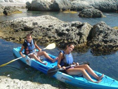 Ruta en Kayak y snorkel en Cabo de Gata (Adulto)
