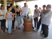 Testing the qualities of the wine