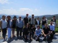 Tourists in the Rias Baixas