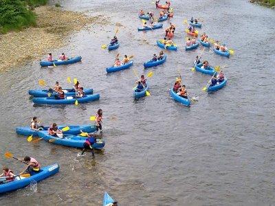 Fiume Sella in canoa da Arriondas, BAMBINI SPECIALI